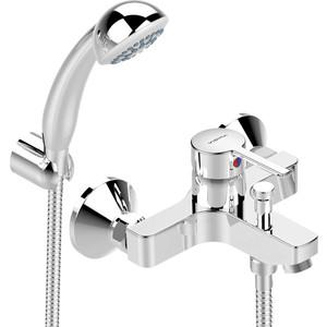 Смеситель для ванны Vidima Логик излив 152-157мм с аксессуарами (BA279AA)