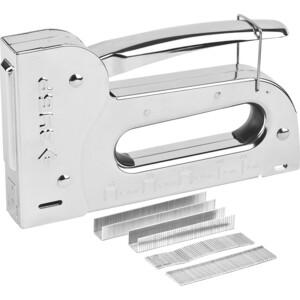 Степлер ручной Зубр 5в1 6-16мм Профи (31527)