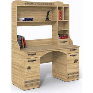 СКАНД-МЕБЕЛЬ Стол с надстройкой Корсар мебель салона маникюрный стол пэрайд 42 цвета