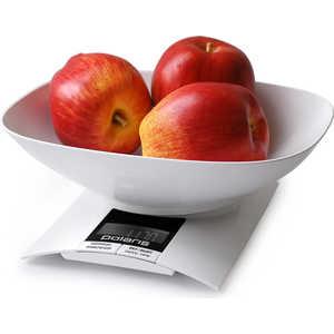 Весы кухонные Polaris PKS 0323DL, белый