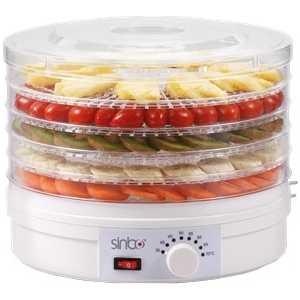 Сушилка для овощей Sinbo SFD-7401 белый сушка для овощей и фруктов sinbo sfd 7401 250вт белый