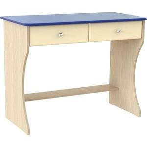 Стол письменный Compass Капитошка ДК-16 синий/ваниль шагрень сандалии капитошка капитошка mp002xg00ips
