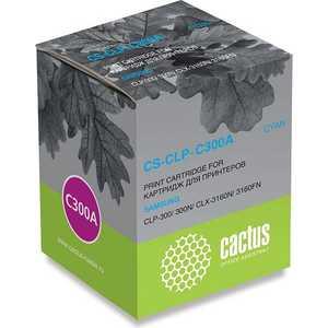 Картридж Cactus CLP-C300A (CS-CLP-C300A) цены онлайн