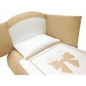 Комплект в кровать Andy and Helen Fiocco (декор- бантик) 7 предметов крем 6/20V3R52 7P SB C mozaika декор c mz2k452 20x30