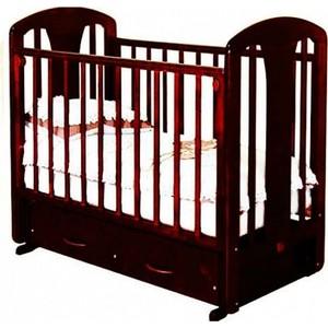 Кроватка Красная звезда Виталина поперечный маятник ящик шоколад Жираф С851