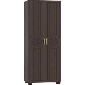 Шкаф для одежды Compass МБ-1 венге темный орех шоколадный
