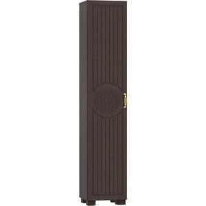 Стеллаж Compass МБ-3 венге темный/орех шоколадный