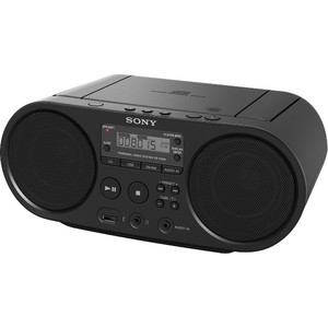 Магнитола Sony ZS-PS50 black магнитола sony zs rs60bt