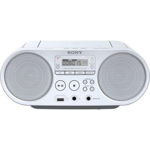 Магнитола Sony ZS-PS50 white магнитола sony zs rs60bt