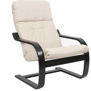 Кресло Мебель Импэкс СаймаМИ каркас венге, эко кожа, цвет Бежевая мебель салона парикмахерское кресло колор 31 цвет 2469 d белый