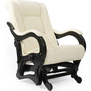 Кресло-качалка Мебель Импэкс МИ Модель 78 каркас венге с лозой, обивка Dundi 112