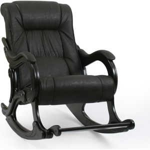 Кресло-качалка Мебель Импэкс МИ Модель 77 каркас венге с лозой,обивка Дунди 108
