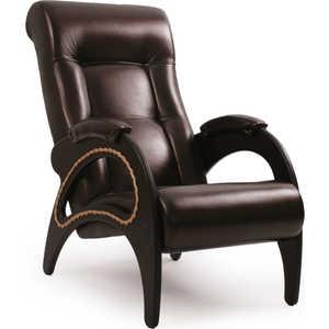 Кресло Мебель Импэкс МИ Модель 41 с лозой каркас венге Орегон перламутр 120