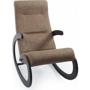 Кресло-качалка Мебель Импэкс МИ Модель 1 венге каркас венге, обивка Malta 15 А фото