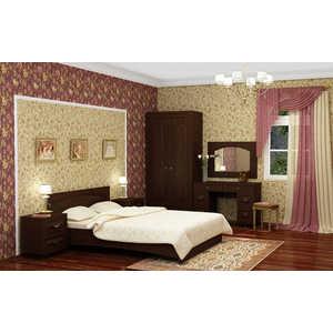 Спальня Compass Элизабет 2 орех темный