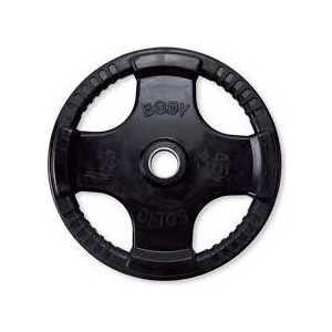 Диск обрезиненный Body Solid 45 фунтов (20.41 кг) (ORT45)