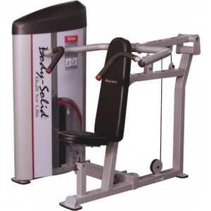 Жим Body Solid Вертикальный сидя с весовым стеком 140 кг (S2SP-3) цена в Москве и Питере