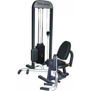 Body Solid Приведение/отведение ног сидя с весовым стеком 95 кг (GIOT-STK) все цены