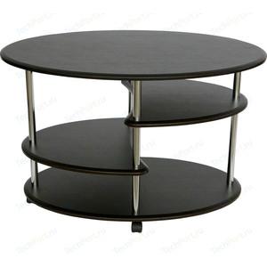 Стол журнальный Калифорния мебель Эллипс СЖ-01 венге цена
