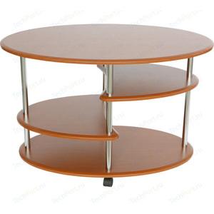 Стол журнальный Калифорния мебель Эллипс СЖ-01 вишня стол журнальный калифорния мебель эллипс сж 01 орех