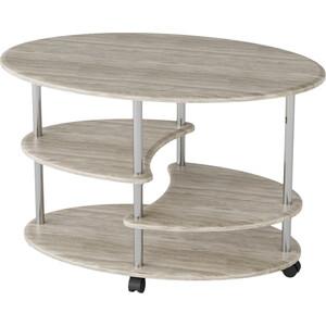 Стол журнальный Калифорния мебель Эллипс СЖ-01 дуб стол журнальный калифорния мебель эллипс сж 01 вишня
