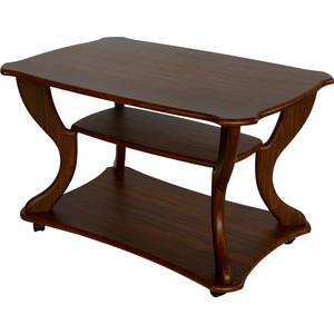 Стол журнальный Калифорния мебель Маэстро СЖ-02 орех стол журнальный калифорния мебель эллипс сж 01 орех