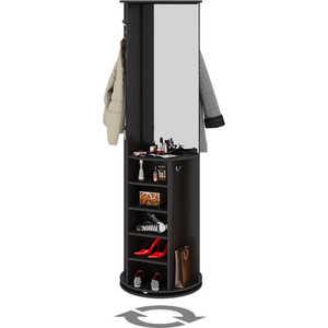Мебель для прихожей ТриЯ Оригами венге цаво трия шкаф комбинированный r с полками фиджи венге цаво венге цаво каналы дуба шк 07 02 23r 17 02