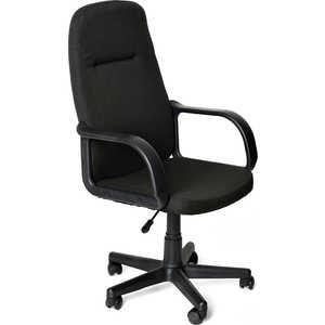 цена Кресло офисное TetChair LEADER 2603 черный онлайн в 2017 году