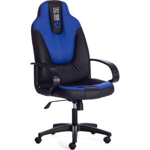цена Кресло офисное TetChair NEO (1) 36-6/36-39 черный/синий онлайн в 2017 году