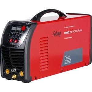 Сварочный инвертор Fubag INTIG 200 AC/DC PULSE (68441.2) инвертор сварочный fubag ir 200 v r d 38475