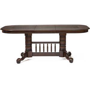 Стол овальный раскладной TetChair DNDT-4296-RBC ротанг темно-коричневый стол обеденный раскладной 4296 stc доступные цвета дуб в красноту