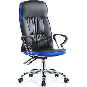 Офисное кресло SmartBuy SB-A500 черное с синим chigu голубой с синим 42 мм