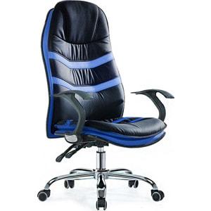 Офисное кресло SmartBuy SB-A325 черное с синим chigu голубой с синим 42 мм