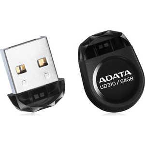 Флеш накопитель A-Data 64GBDashDrive UD310 USB 2.0 Черный (AUD310-64G-RBK) usb накопитель a data auv128 64g rby auv128 64g rby