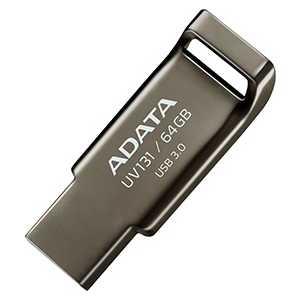 Флеш накопитель ADATA 64GBUV131 USB 3.0 Металл (AUV131-64G-RGY)