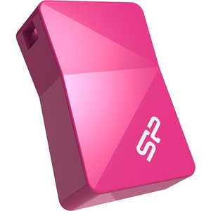 Флеш накопитель Silicon Power 16GB Touch T08 USB 2.0 Розовый (SP016GBUF2T08V1H)
