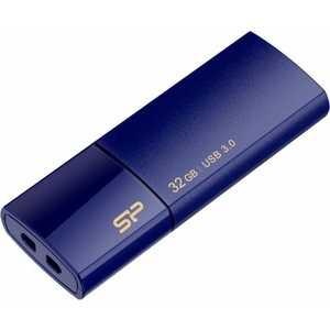 Флеш накопитель Silicon Power 32Gb Blaze B05 USB 3.0 Синий (SP032GBUF3B05V1D)