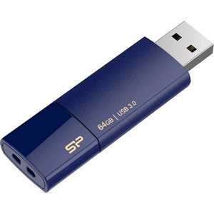Флеш накопитель Silicon Power 64Gb Blaze B05 USB 3.0 Синий (SP064GBUF3B05V1D)