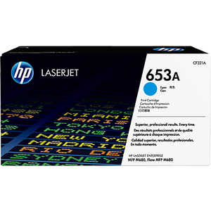 Kартридж HP №653A Cyan (CF321A)