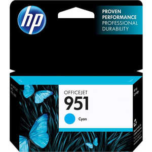 Картридж HP №951 Cyan (CN050AE) картридж струйный hp c9391ae n 88xl cyan with vivera ink