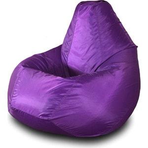 Кресло-мешок Груша Пазитифчик Бмо2 фиолетовый