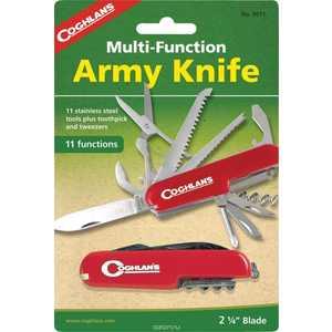 Нож многофункциональный COGHLANS туристический (11 функций) (9511)