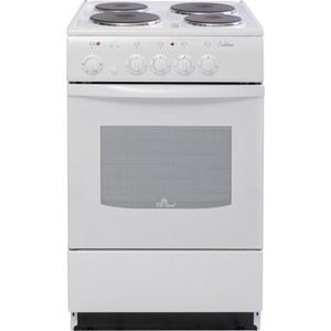 Электрическая плита DeLuxe 5004.12 э (белая) нагревательный элемент spring