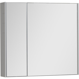 Зеркальный шкаф Aquanet Латина 80 белый (179635)