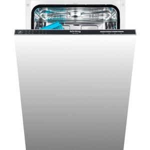 лучшая цена Встраиваемая посудомоечная машина Korting KDI 45130
