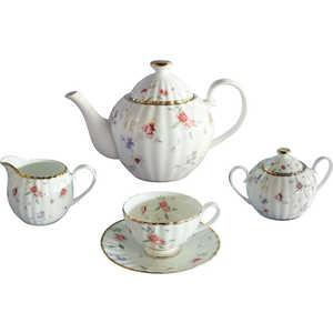 Чайный сервиз Colombo Флёр из 15 предметов на 6 персон (C2-TS/15-3701AL)