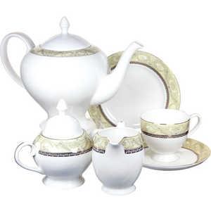 цена на Чайный сервиз Emerald Романтика из 21 предмета на 6 персон (E5-HV005011/21-AL)
