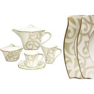 Чайный сервиз Narumi Грегори из 17 предметов на 6 персон (N50844-52347AL)