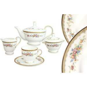 """Чайный сервиз Narumi """"Наслаждение"""" из 17 предметов на 6 персон (N51229-52302AL)"""
