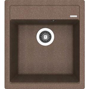 Кухонная мойка Florentina Липси 460 коричневый FG (20.280.B0460.105) мойка кухонная florentina липси 780 коричневый fg 20 270 с0780 105